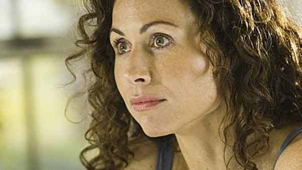 Minnie Driver appears in a still from The Riches. - Provided courtesy of FX Network
