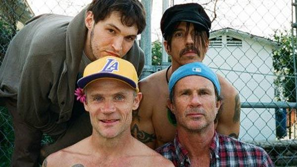The cover of the 2011 Red Hot Chili Peppers album 'I'm With You.'