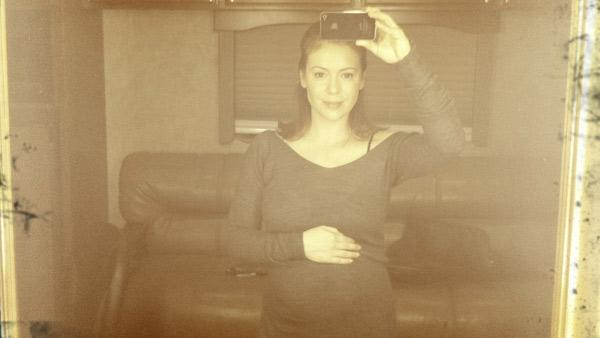 Actress Alyssa Milano appears in a photo posted on her official website on Monday, March 14, 2011.