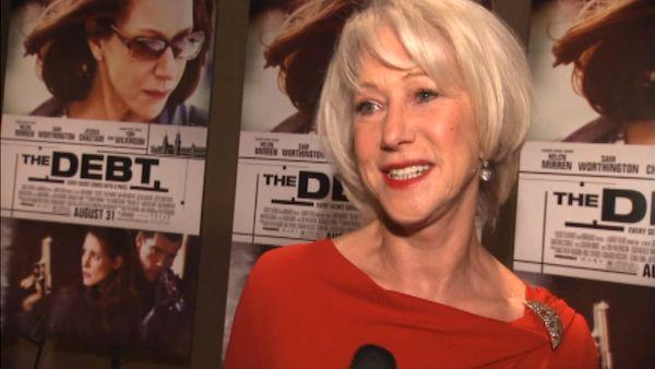 Helen Mirren talks about 'The Debt'