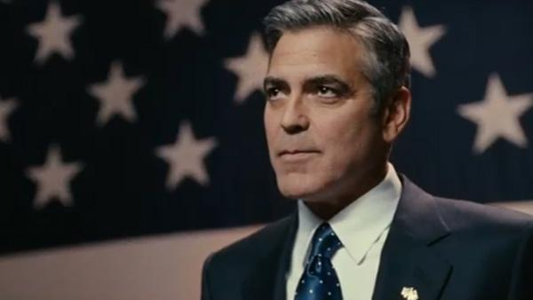 George Clooney appears in a scene from the 2011 movie The Ides of March. - Provided courtesy of Columbia Pictures
