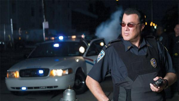 Steven Seagal appears in a promotional photo for his reality show Steven Seagal: Lawman. - Provided courtesy of A and E