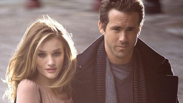 Ryan Reynolds and Rosie Huntington-Whiteley appear in an advertising campaign for Marks and Spencer. - Provided courtesy of Courtesy of Greg Williams for Marks and Spencer
