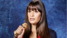 Lea Michele appears in a promotional photo for the third season of Glee. - Provided courtesy of FOX / Danielle Levitt