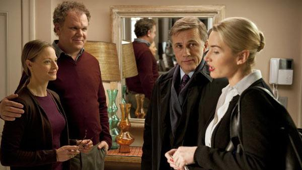 Jodie Foster, John C. Reilly, Christoph Waltz and Kate Winslet appear in a still from Carnage. - Provided courtesy of Sony Pictures Classics