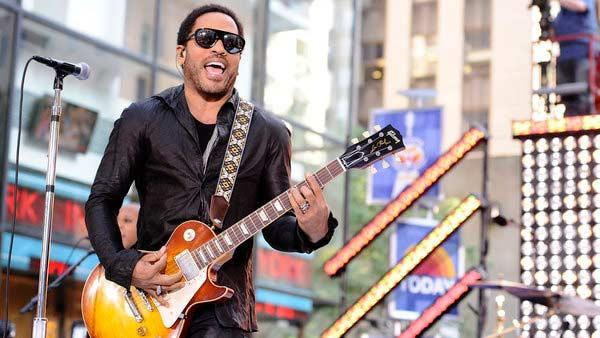 Lenny Kravitz performs on the Today show on September 2, 2011. - Provided courtesy of NBC / Peter Kramer