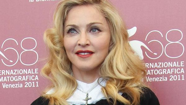 US singer and director Madonna poses at the photo call for the film W.E. during the 68th edition of the Venice Film Festival in Venice, Italy, Thursday, Sept. 1, 2011. - Provided courtesy of AP / Joel Ryan