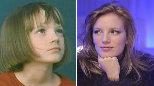 Sarah Polley appears in a scene from the 1980s series 'Ramona.' / Sarah Polley appears in a scene from the 2010 movie 'Splice.'