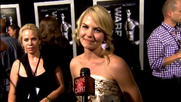 Jennifer Morrison gets glam for 'Warrior' premiere