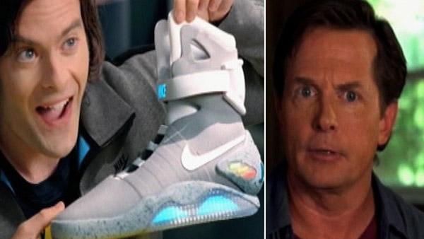 'Marty McFly' Nike Mag shoes ad - watch