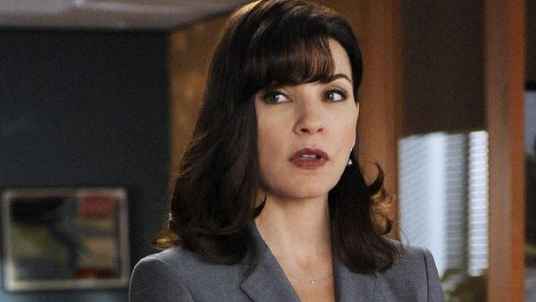 Julianna Margulies appears in a still from The Good Wife. - Provided courtesy of CBS / Jeffrey Neira