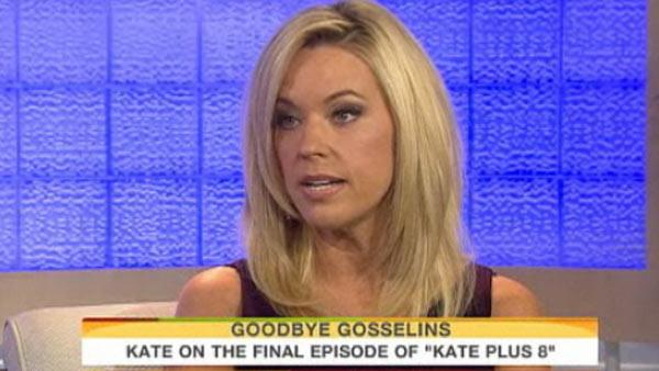 Kate Gosselin appears on the Today show on Sept. 12, 2011. - Provided courtesy of NBC