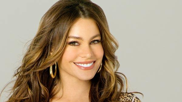 Sofia Vergara appears in a 2011 promotional photo for the third season of ABCs comedy sitcom, Modern Family. - Provided courtesy of ABC