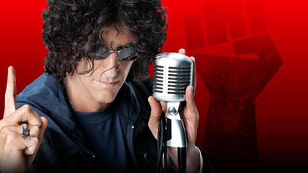 Howard Stern appears in a promotional 2006 photo for Sirius XM, which hosts his radio show.