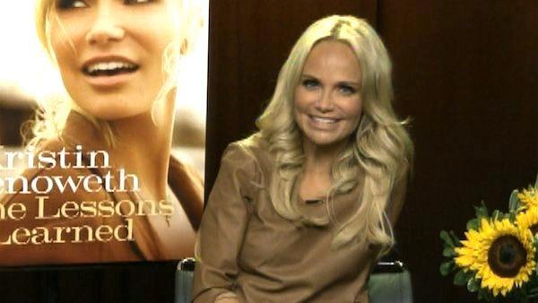 Kristin Chenoweth on 'Some Lessons Learned'