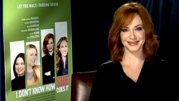 Christina Hendricks talks 'Drive' director