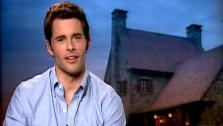 James Marsden talks to OnTheRedCarpet.com about Straw Dogs. - Provided courtesy of OTRC