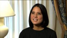 Olivia Munn talks about I Dont Know How She Does It in an interview provided by The Weinstein Company. - Provided courtesy of none / The Weinstein Company