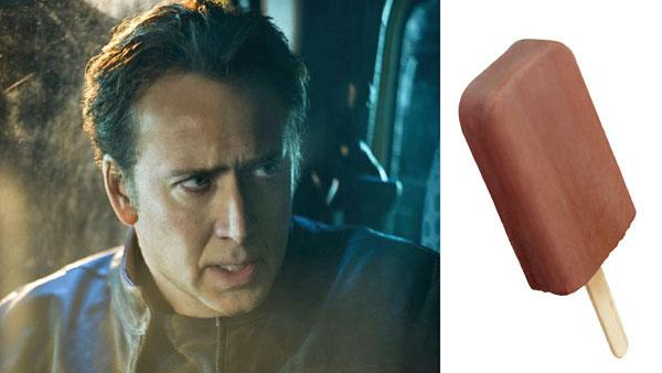 Nicholas Cages in Ghost Rider. /  a picture of a Fudgesicle - Provided courtesy of Sony Pictures