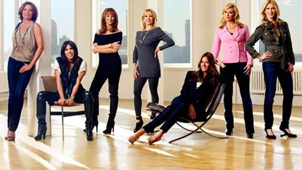 The cast of The Real Housewives of New York appear in a publicity photo. - Provided courtesy of Bravo