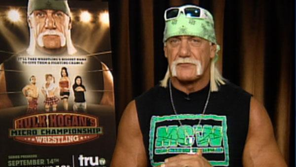 Hulk Hogan praises little wrestlers - Provided courtesy of OTRC