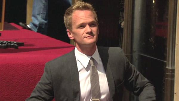 Neil Patrick Harris appears at his star ceremony on the Hollywood Walk of Fame on Sept. 15, 2011. - Provided courtesy of Hollywood Chamber of Commerce