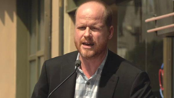 Joss Whedon speaks at his Dr. Horribles Sing-Along Blog star Neil Patrick Harris star ceremony on the Hollywood Walk of Fame on Sept. 15, 2011. - Provided courtesy of Hollywood Chamber of Commerce