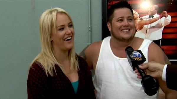 Chaz Bono talks to OnTheRedCarpet.com during a rehearsal for 'Dancing With The Stars.'