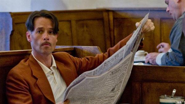 Guy Pearce appears in a scene from the 2011 HBO miniseries Mildred Pierce. - Provided courtesy of HBO