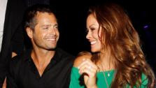 David Charvet and Brooke Burke attended the Dylan George and Abbot + Main Spring 2012 Launch and after party at Paris Las Vegas on Aug. 23, 2011. - Provided courtesy of WireImage