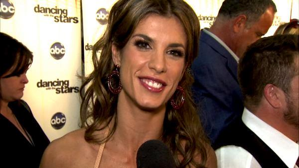 Elisabetta Canalis talks first 'DWTS' night