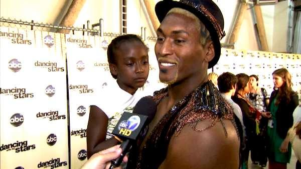 Metta World Peace and Diamond talk 'DWTS'