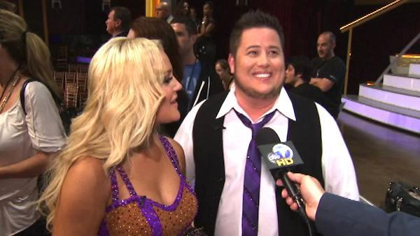 Chaz Bono talks to OnTheRedCarpet.com after first 'Dancing With The Stars' results show on Sep. 20, 2011.
