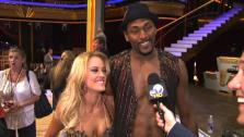 Metta World Peace talks to OnTheRedCarpet.com after first Dancing With The Stars results show on Sep. 20, 2011.