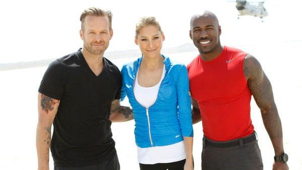 Anna Kournikova, Bob Harper appear in a promotional photo for The Biggest Loser season 12. - Provided courtesy of NBC