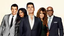Steve Jones, Nicole Sherzinger, Simon Cowell, Paula Abdul and L.A. Reid appear in a promotional photo for The X Factor. - Provided courtesy of FOX