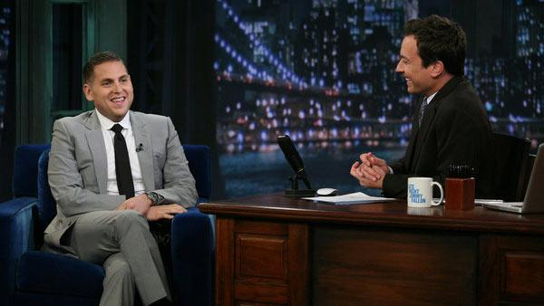 Jonah Hill appears on Late Night With Jimmy Fallon in an episode that aired on Sept. 21, 2011. - Provided courtesy of NBC