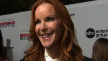 Marcia Cross talks to OnTheRedCarpet.com at a Los Angeles event celebrating the premiere of the eighth and final season of the ABC show Desperate Housewives on Sept. 21, 2011. - Provided courtesy of OTRC