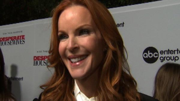 Marcia Cross talks about saying goodbye