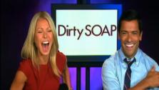 The two dish about upcoming reality series Dirty Soap. The former soap stars are executive producers of it. - Provided courtesy of OTRC