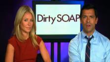 Kelly Ripa and Mark Consuelos talk about the end of All My Children, which airs its series finale on Sep. 23. - Provided courtesy of OTRC