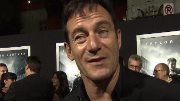 Jason Isaacs: Taylor Lautner fast 'as liquid'