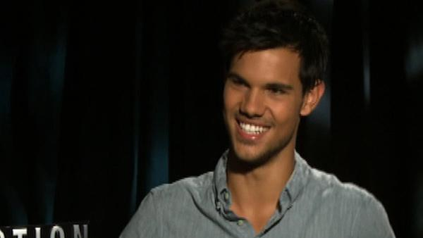 Taylor Lautner on drinking: 'I behave myself'