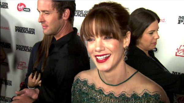 Michelle Monaghan talks to OnTheRedCarpet.com at the premiere of Machine Gun Preacher. - Provided courtesy of OTRC
