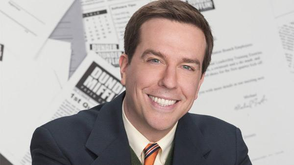 Ed Helms appears in a promotional photo for The Office. - Provided courtesy of NBC