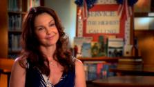 Ashley Judd talks about her new film Dolphin Tale in an interview provided by the studio. - Provided courtesy of Warner Bros. Pictures