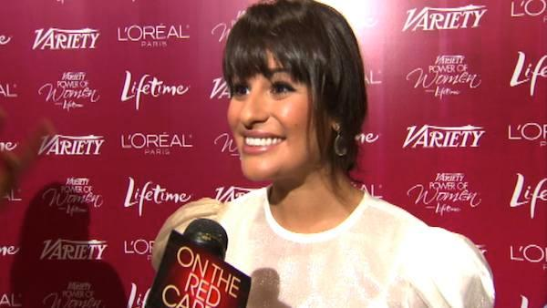 Lea Michele on changing 'Glee' cast