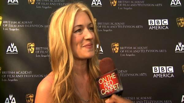 Cat Deely, host of So You Think You Can Dance, talks to OTRC.com at the BAFTAs Tea Party on Sept. 17, 2011. - Provided courtesy of OTRC