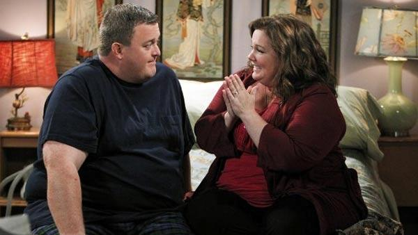 Melissa McCarthy appears in a scene from the CBS show Mike and Molly. - Provided courtesy of CBS