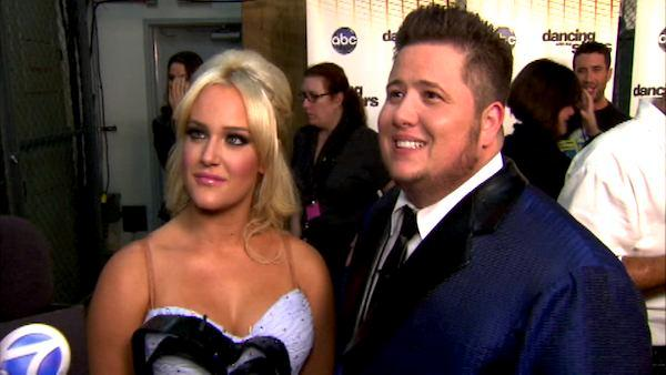 Chaz Bono talks to OnTheRedCarpet.com after the September 26 episode of Dancing With The Stars. - Provided courtesy of OTRC